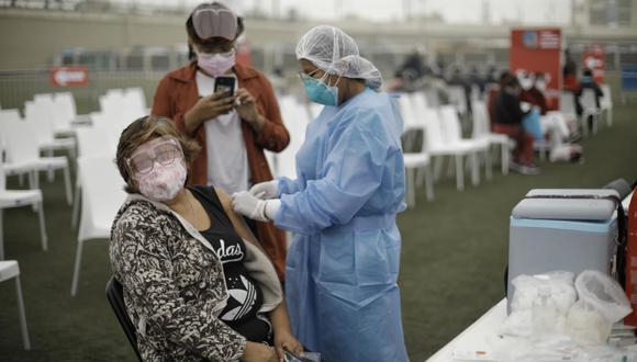 El Vacunatón contra el COVID-19 será a partir de las 7 a.m. del sábado 10 hasta las 7 p.m. del domingo 11 de julio. (Foto: GEC)