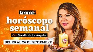 Horóscopo de Soralla de los Ángeles: Todas las predicciones de los ángeles para la semana del 20 al 26 de septiembre