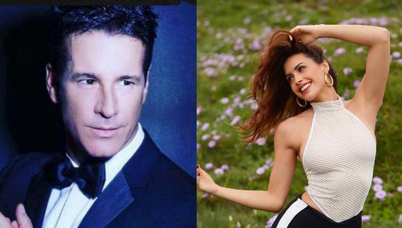 Fernando Carrillo considera a Milett Figueroa su actriz peruana favorita. (Fotos: Instagram)