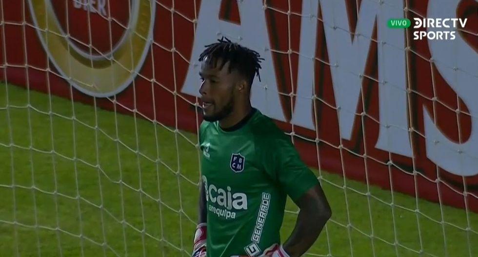 Carlos Cáceda, figura del Melgar vs Nacional Potosí por Copa Sudamericana