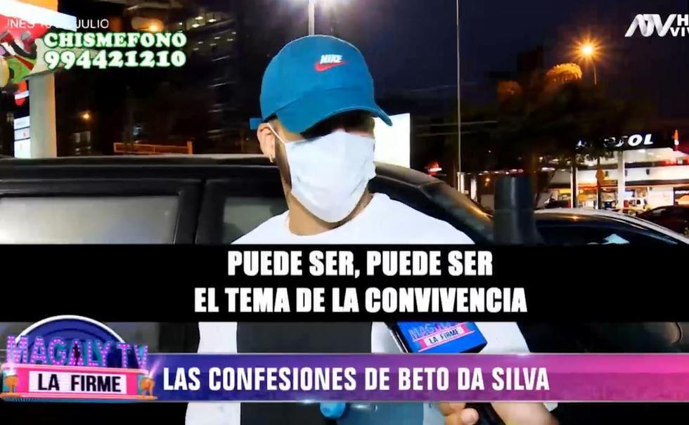 Beto Da Silva habla sobre su ruptura con Ivana Yturbe