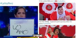 La Flor de Retama, Mike Bahía y Guillermo Dávila, los protagonistas de los memes de 'La Voz Perú' | FOTOS