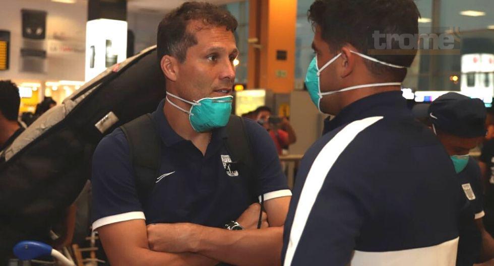 Alianza Lima viajó a Buenos Aires con medidas de seguridad ante coronavirus