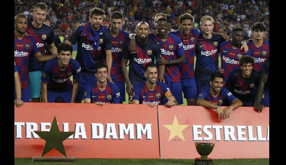 Barcelona venció 2-1 a Arsenal y se quedó con el Trofeo Joan Gamper 2019