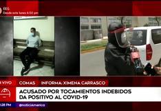 Hombre es detenido tras ser acusado de realizar tocamientos indebidos a una joven en Comas