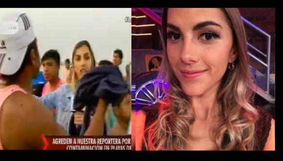 Manuela Camacho fue agredida
