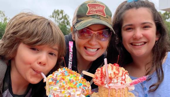 Thalía festejó en cuarentena los 9 años de su hijo Matthew. (Foto: Instagram)