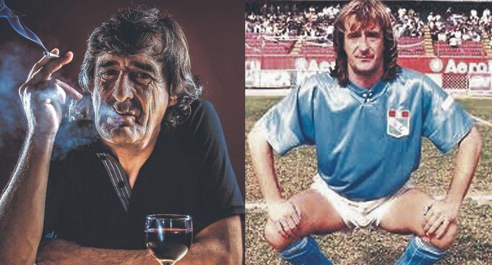 'La Pepa' Baldessari recordó algunas de sus más divertidas anécdotas/ Horacio Baldessari con la camiseta del Sporting Cristal. (Fotos: Andres Valle/ Archivo GEC)
