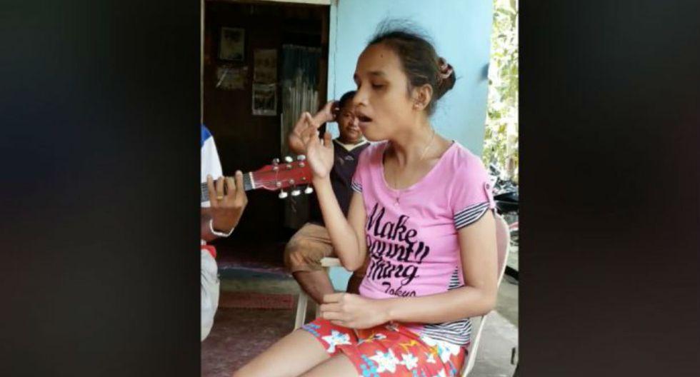 Video de niña filipina nos trae a la memoria a la desaparecida Whitney Houston. (Redes sociales)