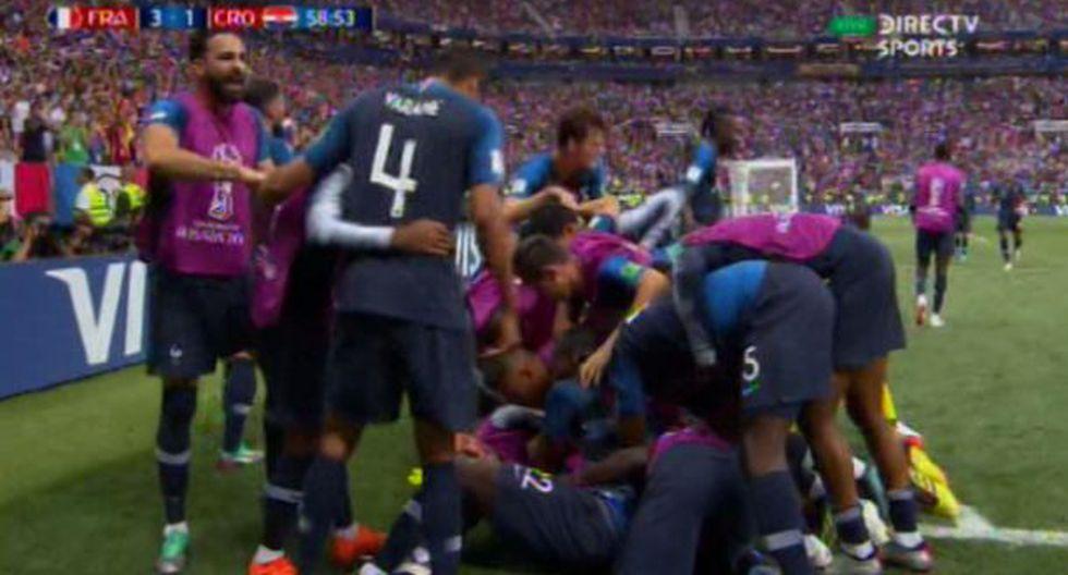 Gol 3 de Francia