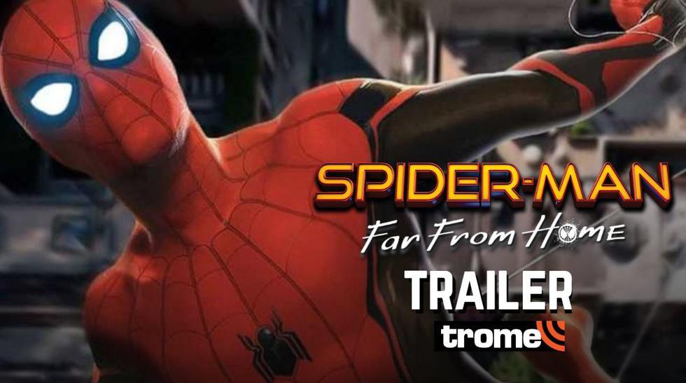 'Spider-Man: Far From Home': Fecha oficial del estreno primer trailer de la cinta de Marvel