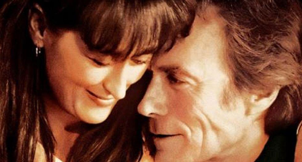 LOS PUENTES DE MADISON es una película de 1995 dirigida por Clint Eastwood e interpretada por el propio Eastwood junto a Meryl Streep, Annie Corley, Victor Slezak y Jim Haynie, entre otros (Foto: Warner Bros.)