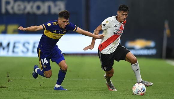 Boca Juniors y River Plate se enfrentarán por los cuartos de la Copa de la Liga Profesional (Foto: AFP)