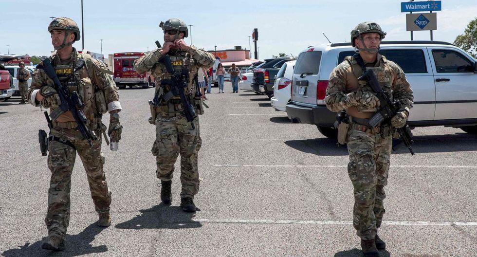 Las autoridades de El Paso en Texas, Estados Unidos  confirmaron que hay varios muertos como consecuencia del tiroteo ocurrido este sábado en un centro comercial de esa ciudad. (Foto: AFP)