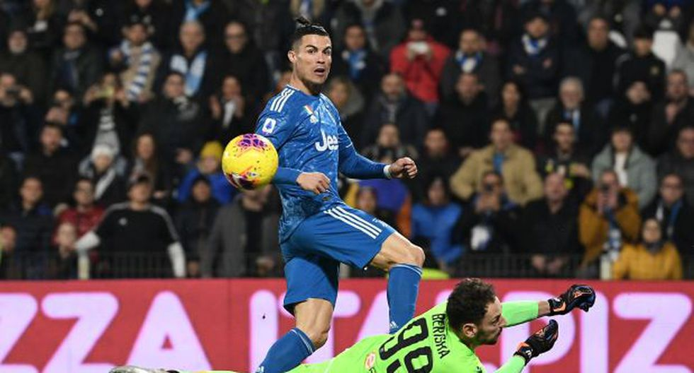 Gol de Cristiano Ronaldo en Juventus vs SPAL por Serie A: Remate implacable de CR7