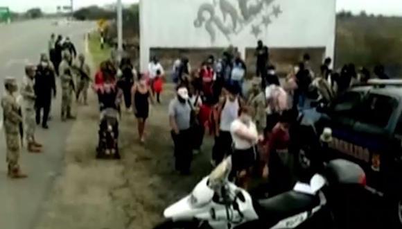 Policía interviene a más de 200 extranjeros que intentaron ingresar al Perú ilegalmente