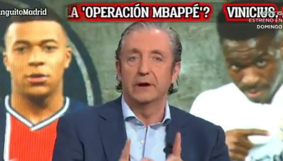 Josep Pedrerol dio primicia mundial sobre la llegada de Kylian Mbappé al Real Madrid.