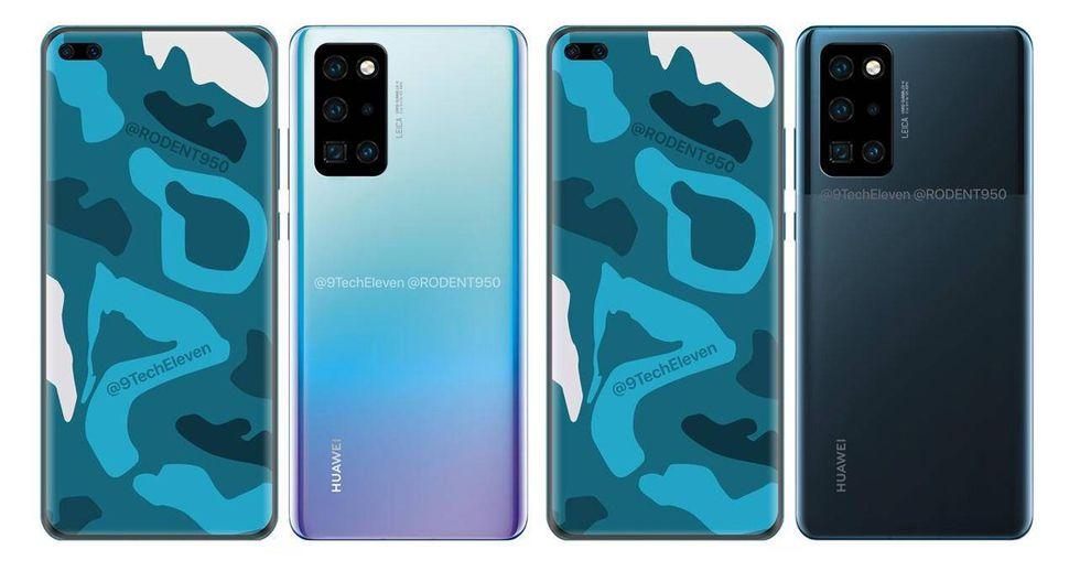 ¿Este sería el Huawei P40 Pro a lanzarse el 2020? (Foto: 9techeleven)