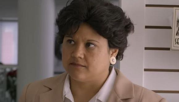 "Natasha Pérez interpreta a Yolanda Saldívar en ""Selena, la serie"". (Foto: Netflix)"