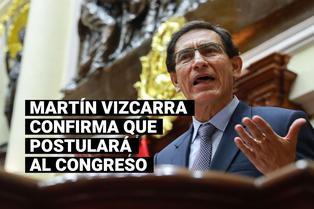 Elecciones 2021: Martín Vizcarra anuncia que postulará al Congreso por el partido Somos Perú