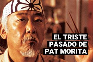 La triste historia de Pat Morita, el señor Miyagi en Karate Kid