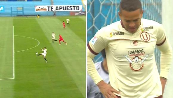 Donald Millán falló increíble gol en Universitario vs Cienciano