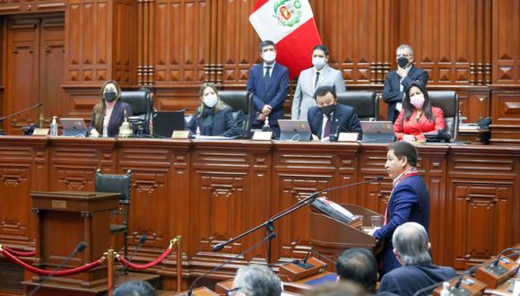 El Gabinete Bellido necesita de la mitad más uno de los votos a favor para obtener el voto de confianza. (Foto: Congreso del Perú)