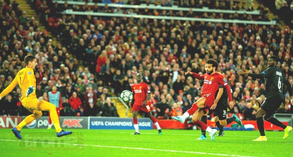 Liverpool venció  4-3 a Salzburgo de la segunda fecha de la Champions League.