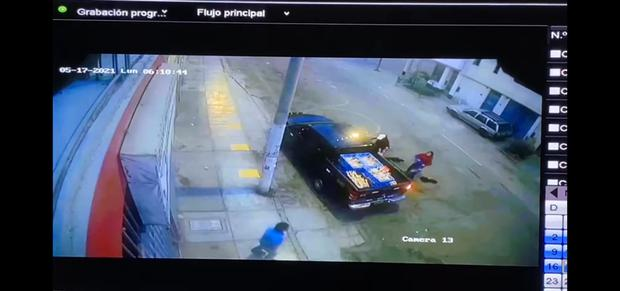 Momento del asalto (secuencia, número 3)