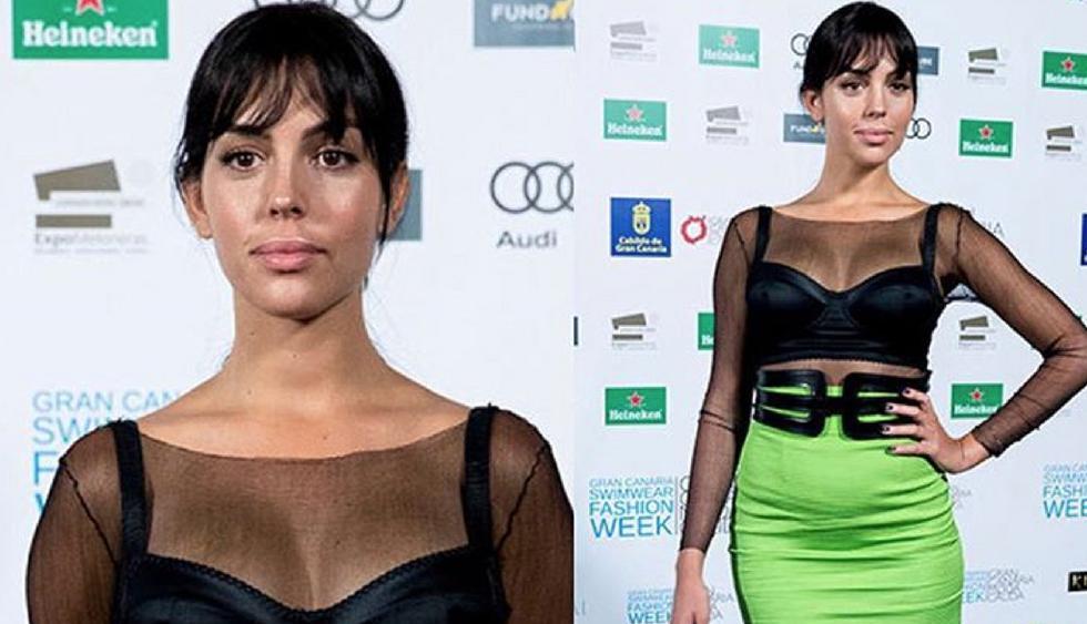 Georgina Rodríguez estaría embarazada. (Fotos: Instagram)