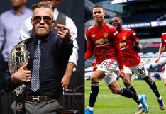 Conor McGregor afirma que 'está pensando comprar el Manchester United'