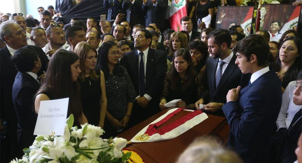 Así se desarrolló el último día del velorio del ex presidente Alan García. (Foto: Violeta Ayasta / GEC)