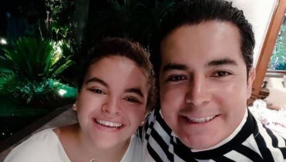 La joven Lucerito Mijares ya ha mostrado sus dotes para el canto y ha compartido escenario con sus padres. (Foto: Lucerito Mijares / Instagram)