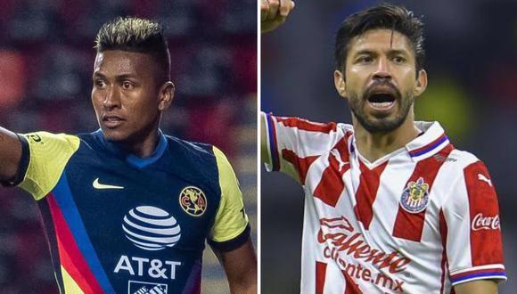América vs. Chivas se enfrentan en el Clásico Nacional. (Foto: EFE/Composición)