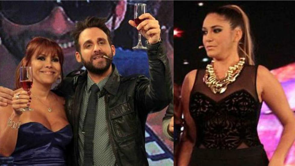 Magaly Medina se ríe de Tilsa Lozano y pide a 'Peluchín'