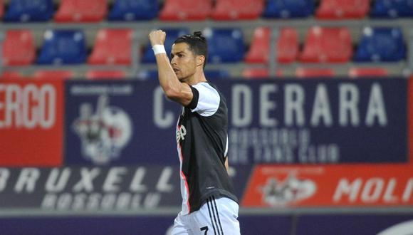 Gol de Cristiano Ronaldo en Juventus vs Bologna