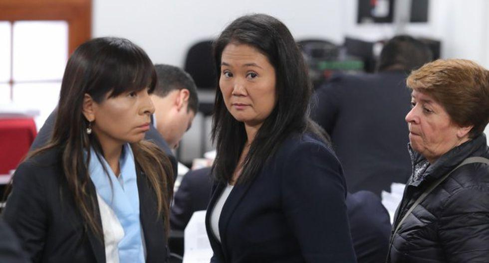 Keiko Fujimori seguirá cumpliendo prisión preventiva tras la decisión de la jueza Susana Castañeda el último jueves. (Foto: GEC)