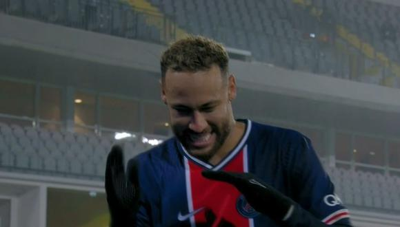 Neymar regresó con gol en PSG de Francia