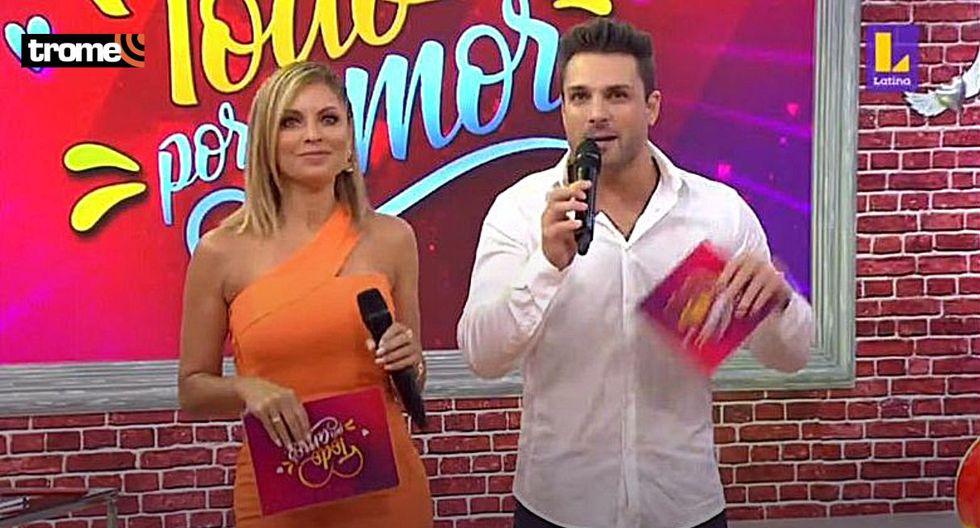 Nicola Porcella reapareció al lado de Karina Rivera