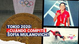 Tokio 2020: ¿Cuándo competirá la surfista peruana Sofía Mulanovich?