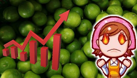 En supermercados de Lima Metropolitana los consumidores han llegado a pagar hasta más de 9 soles el kilo de limón.