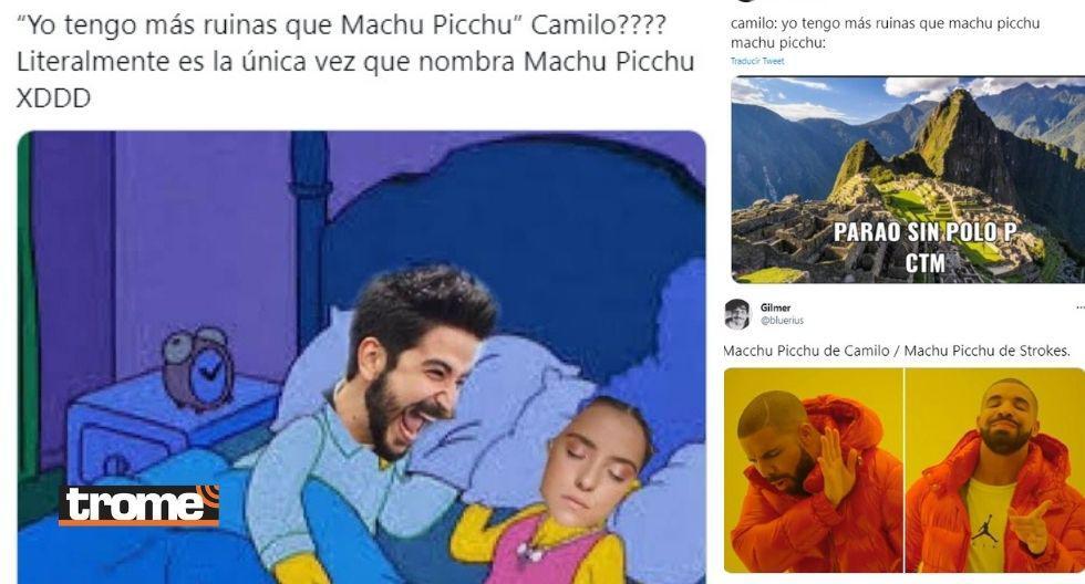 El cantante Camilo estrenó este lunes 1ro de marzo su nueva canción Machu Picchu, pero lejos de generar algarabía entre sus seguidores peruanos, causó desilusión y en redes sociales se viralizaron memes.