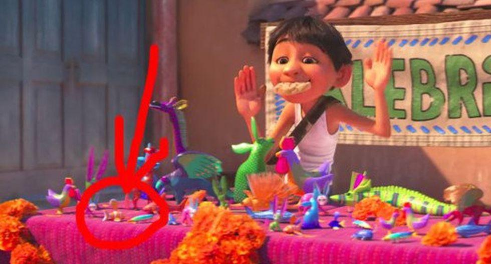 Personaje de Toy Story aparece en Coco