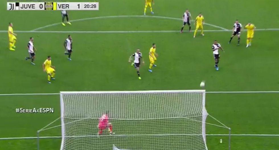 Juventus vs Verona: Gol de Veloso
