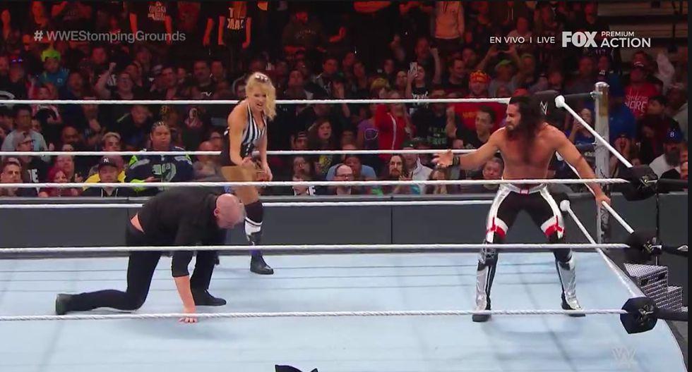 Te traemos todos los resultados de WWE Stomping Grounds (Captura Fox Action)