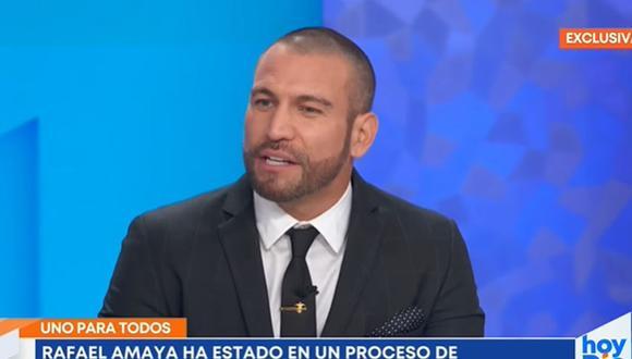 Rafael Amaya se sincera sobre sus adicciones y envía mensaje a quienes están luchando actualmente. (Foto: Captura de video)