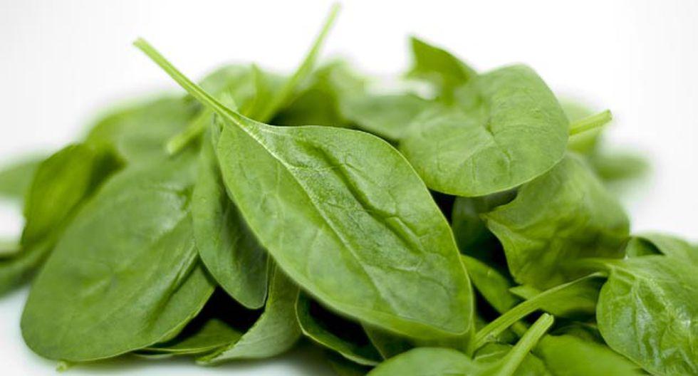 La espinaca es un alimento para reforzar el sistema inmune. (Shutterstock)