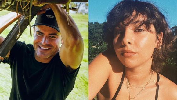 Zac Efron y Vanessa Valladares habrían puesto punto final a su relación. (Foto:@zac_efron/@_is_ness)