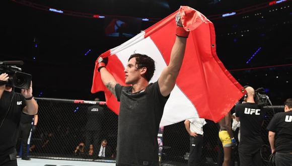 'El Niño' Claudio Puelles tendrá cuatro peleas más en UFC. (UFC)