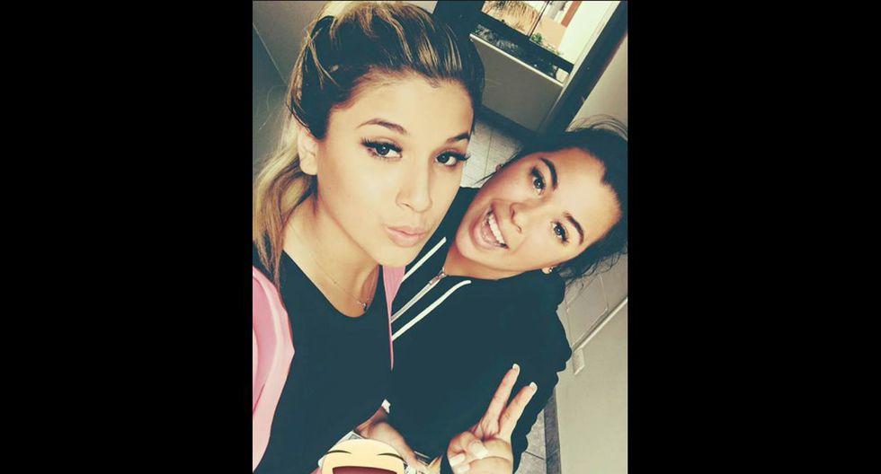 Yahaira Plasencia y su hermana Silvana Plasencia